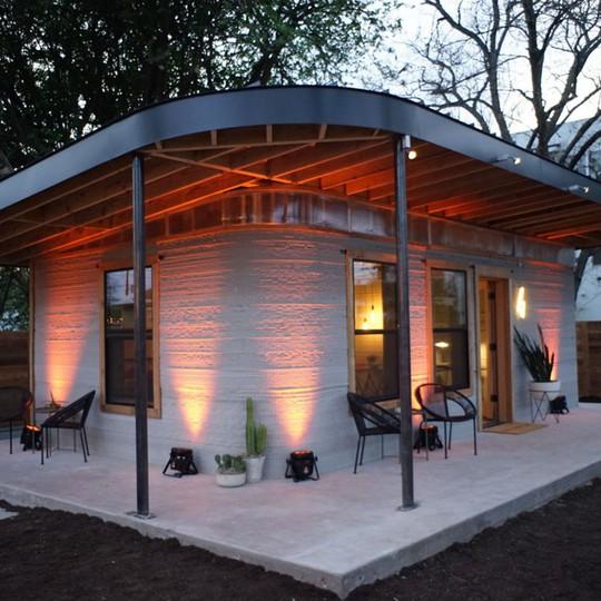 Nhà 60 mét vuông in 3D giá 4.000 USD, rẻ hơn xây - Ảnh 1.