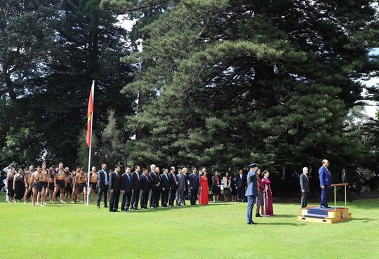 Màn biểu diễn đặc biệt đón Thủ tướng Nguyễn Xuân Phúc ở New Zealand - Ảnh 5.