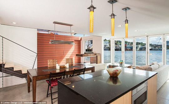 """""""Phát sốt"""" với những ngôi nhà tuyệt đẹp ít sử dụng năng lượng - Ảnh 2."""