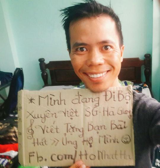 8x Phú Yên đi bộ xuyên Việt trong 113 ngày đêm - Ảnh 2.