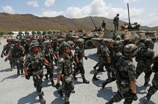Trung Quốc và Campuchia tập trận chung - Ảnh 2.