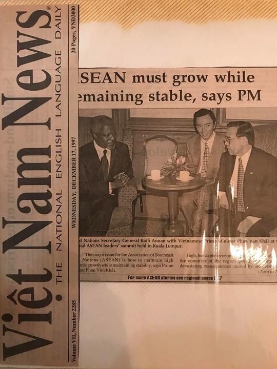 Kỷ niệm khó quên của các nhà ngoại giao với cố Thủ tướng Phan Văn Khải - Ảnh 7.