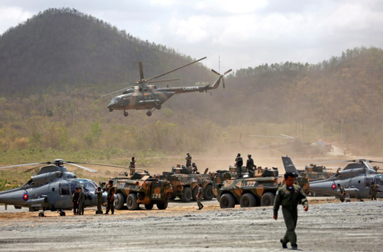 Trung Quốc và Campuchia tập trận chung - Ảnh 4.