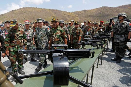 Trung Quốc và Campuchia tập trận chung - Ảnh 3.