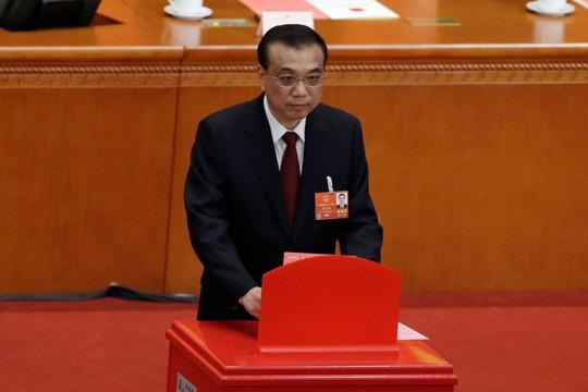 Ông Lý Khắc Cường được bầu lại làm thủ tướng Trung Quốc - Ảnh 1.