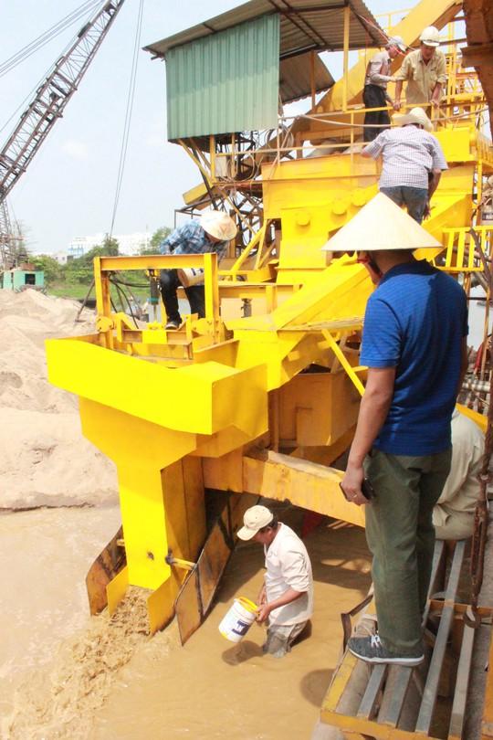 Công ty đầu tiên xử lý cát nhiễm mặn thành cát sạch - Ảnh 3.
