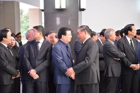 Lãnh đạo Đảng, Chính phủ, Quốc hội viếng nguyên Thủ tướng Phan Văn Khải - Ảnh 8.