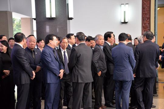 Lãnh đạo Đảng, Chính phủ, Quốc hội viếng nguyên Thủ tướng Phan Văn Khải - Ảnh 7.