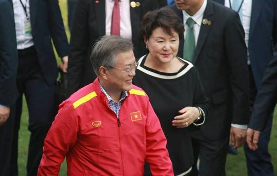 Tổng thống Hàn Quốc: Nếu không có bão tuyết, chắc chắn U23 Việt Nam đã vô địch - Ảnh 2.