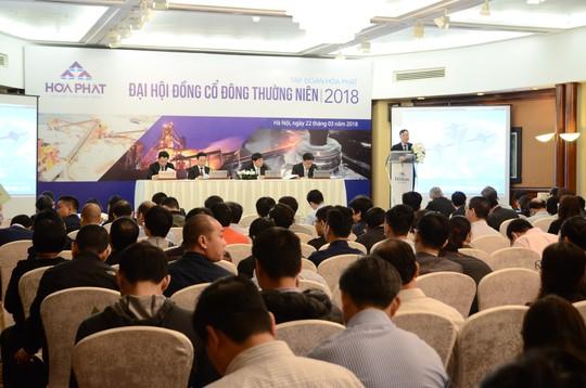 Hòa Phát đặt mục tiêu doanh thu 55.000 tỉ đồng cho năm 2018 - Ảnh 2.