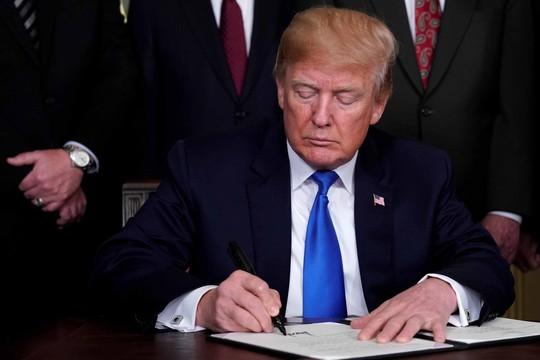Tổng thống Trump lật bài ngửa với Trung Quốc