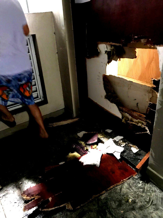 Ám ảnh trở lại chung cư Carina sau vụ cháy 13 người chết - Ảnh 5.