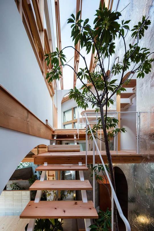 Nhà 2 tầng gây xôn xao giới kiến trúc vì thiết kế... lạ - Ảnh 10.