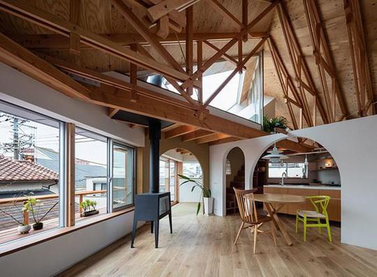 Nhà 2 tầng gây xôn xao giới kiến trúc vì thiết kế... lạ - Ảnh 11.