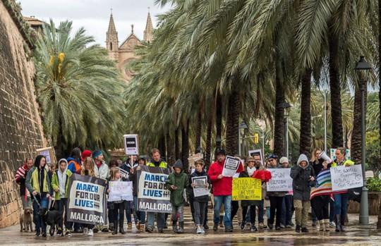 """Hàng trăm ngàn người """"biểu tình vì mạng sống"""", phản đối chính phủ Mỹ - Ảnh 3."""