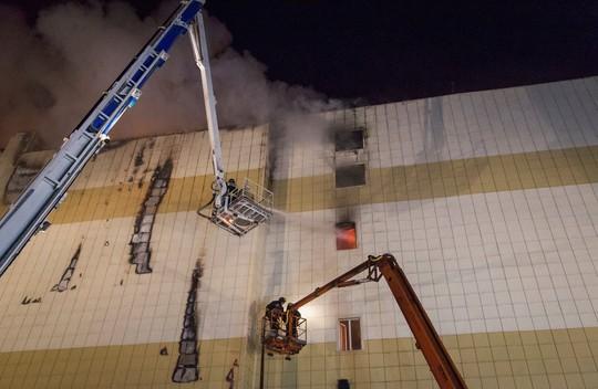Vụ cháy trung tâm thương mại Nga: Không có người Việt thiệt mạng - Ảnh 1.