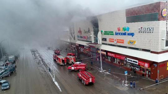 Nga: Cháy trung tâm mua sắm, 53 người thiệt mạng - Ảnh 2.