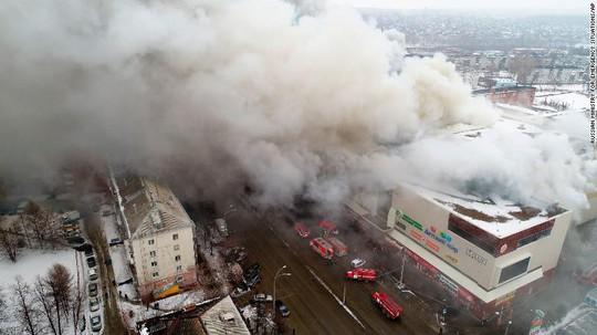 Nga: Cháy trung tâm mua sắm, 53 người thiệt mạng - Ảnh 3.