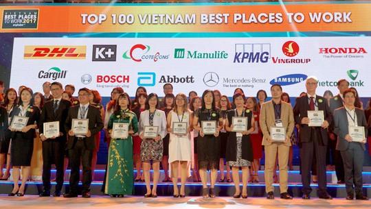 Manulife Việt Nam là nơi làm việc tốt nhất ngành bảo hiểm năm 2017 - Ảnh 1.