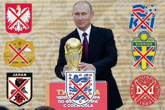 Ủng hộ Anh, 6 nước đòi tẩy chay lễ khai mạc World Cup 2018 - Ảnh 1.