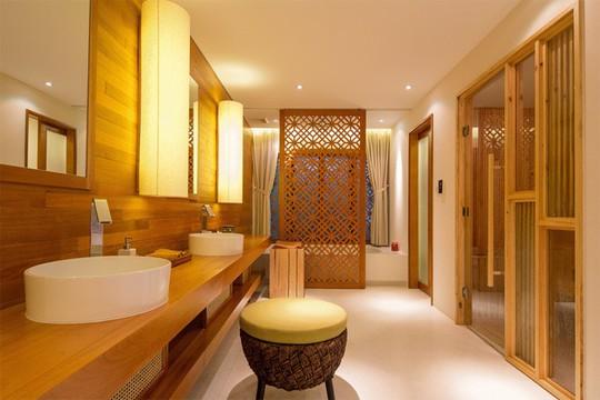 Không gian sống đẹp như resort của ca sĩ Quang Dũng - Ảnh 10.