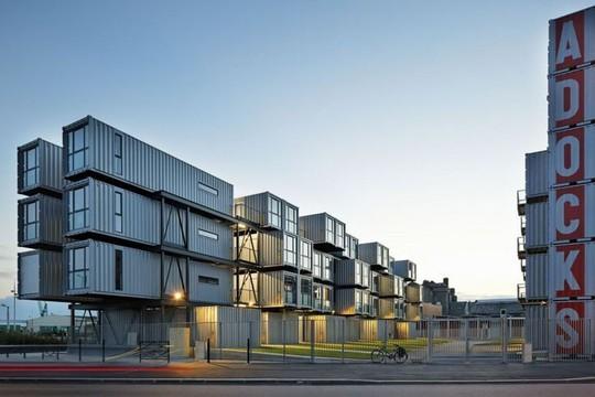 10 thiết kế nhà container độc đáo trên thế giới - Ảnh 14.