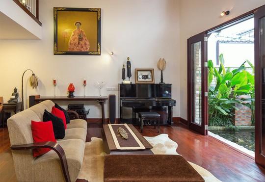 Không gian sống đẹp như resort của ca sĩ Quang Dũng - Ảnh 2.