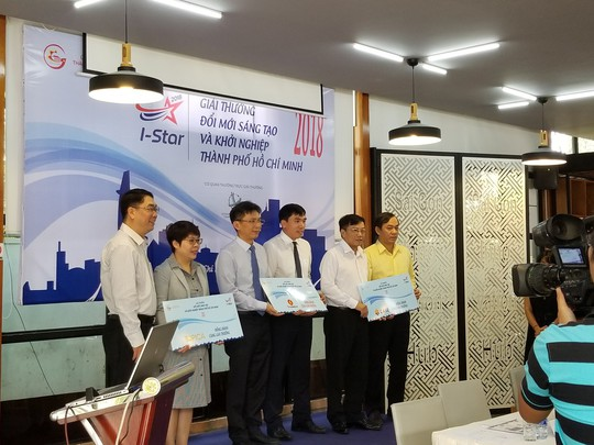 Công bố Giải thưởng Đổi mới sáng tạo và khởi nghiệp TP HCM - Ảnh 1.