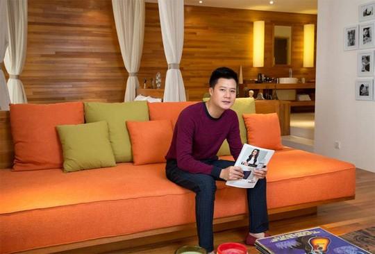 Không gian sống đẹp như resort của ca sĩ Quang Dũng - Ảnh 6.