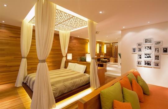 Không gian sống đẹp như resort của ca sĩ Quang Dũng - Ảnh 7.