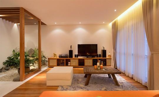 Không gian sống đẹp như resort của ca sĩ Quang Dũng - Ảnh 8.