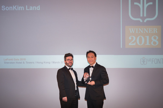 SonKim Land giành giải thưởng quốc tế IAIR - Ảnh 1.
