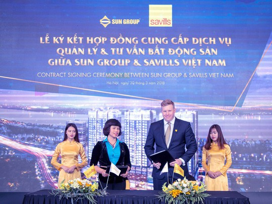 Sun Group và Savills Việt Nam hợp tác quản lý tổ hợp Sun Grand City Ancora Residence - Ảnh 1.