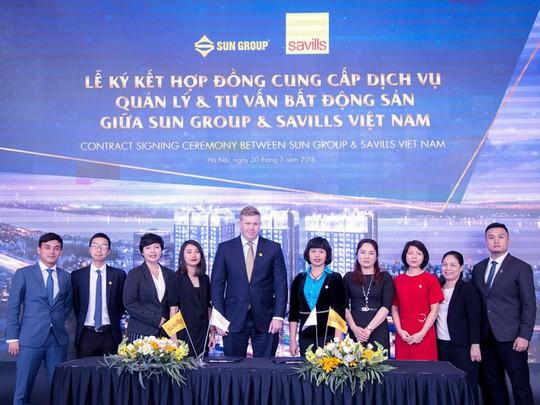 Sun Group và Savills Việt Nam hợp tác quản lý tổ hợp Sun Grand City Ancora Residence - Ảnh 2.