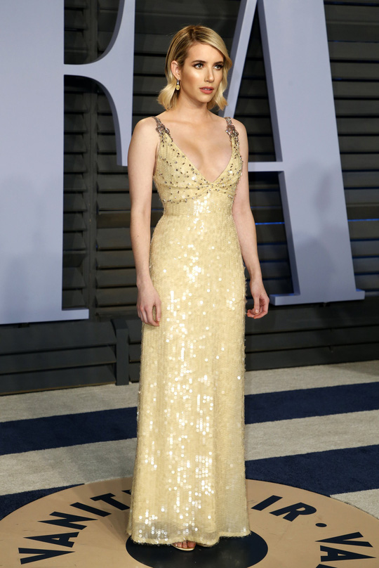 Dàn người đẹp khoe vòng một tại tiệc hậu Oscar - Ảnh 7.