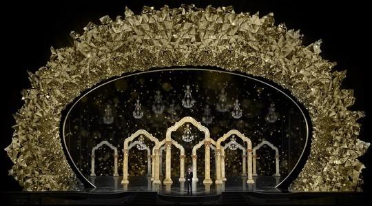 Sân khấu băng giá gắn 45 triệu viên pha lê của Oscar 2018 - Ảnh 2.