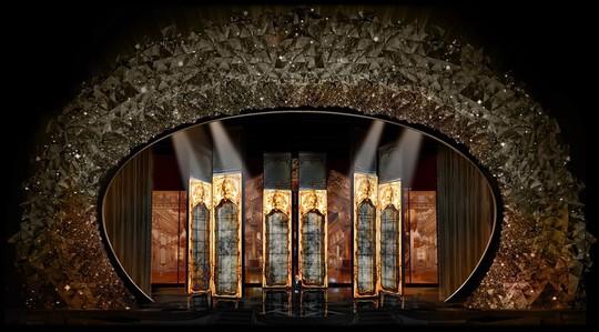 Sân khấu băng giá gắn 45 triệu viên pha lê của Oscar 2018 - Ảnh 3.