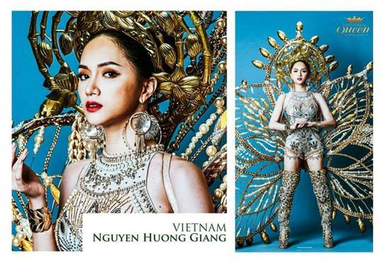 Hoa hậu chuyển giới Quốc tế 2018: 5 đối thủ đáng gờm của Hương Giang Idol - Ảnh 1.