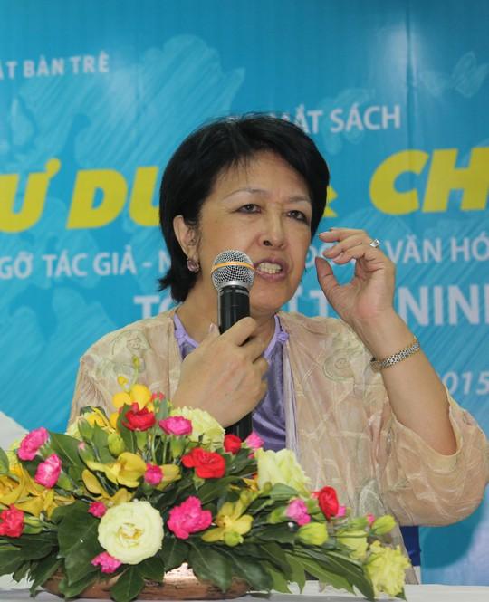Bà Tôn Nữ Thị Ninh nói về phụ nữ trong thời đại 4.0 - Ảnh 1.
