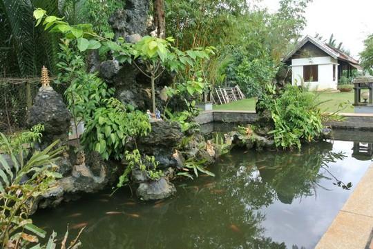 Ngây ngất với biệt thự dát toàn gỗ quý của Hoa khôi Thu Hương - Ảnh 11.