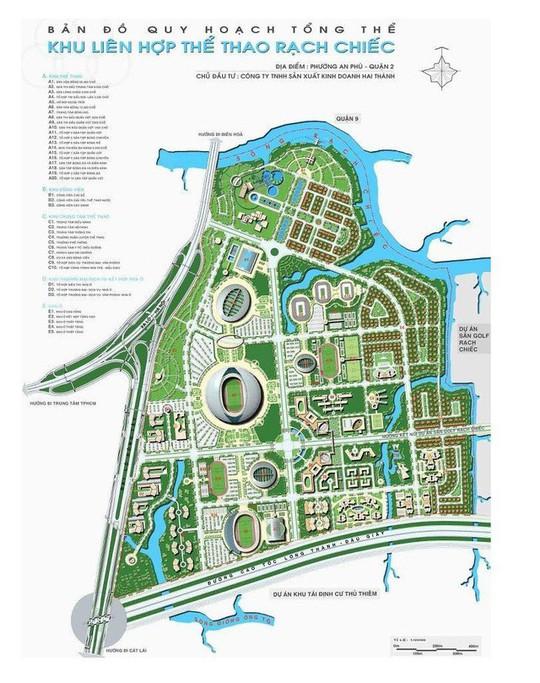 Chuẩn bị chọn phương án quy hoạch Khu liên hợp Rạch Chiếc - Ảnh 1.