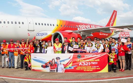 Vietjet nhận máy bay A321neo thế hệ mới đầu tiên tại khu vực Đông Nam Á - Ảnh 4.