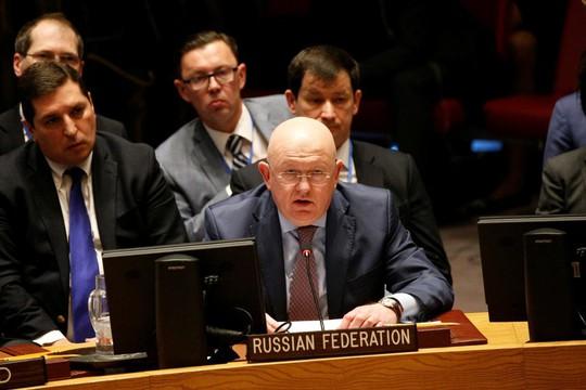 Mỹ - Nga tranh cãi nảy lửa vì Syria ở Liên Hiệp Quốc - Ảnh 1.