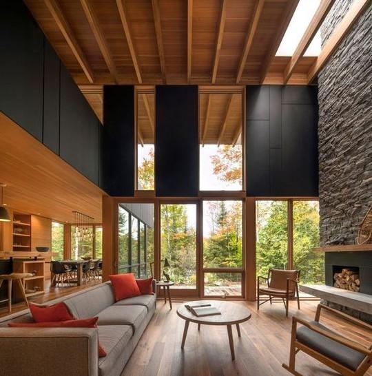 Thiết kế trần gỗ cho ngôi nhà bừng sáng  - Ảnh 10.