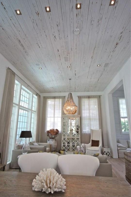 Thiết kế trần gỗ cho ngôi nhà bừng sáng  - Ảnh 11.