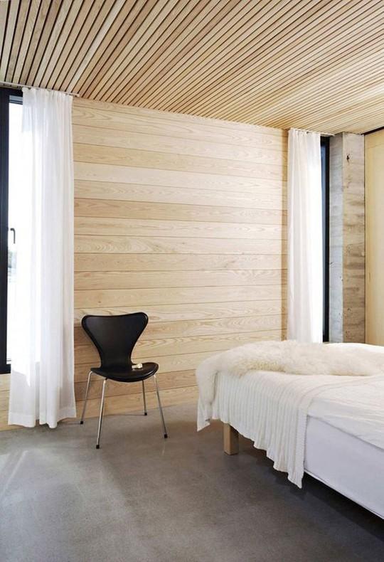 Thiết kế trần gỗ cho ngôi nhà bừng sáng  - Ảnh 2.