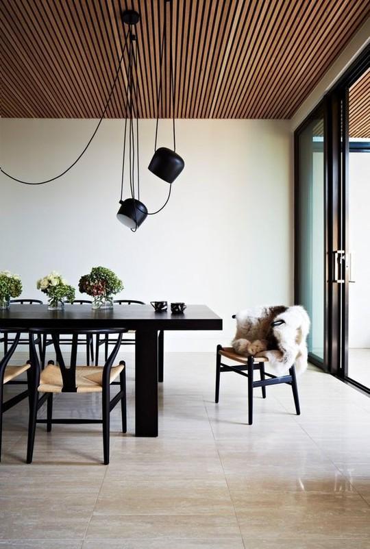 Thiết kế trần gỗ cho ngôi nhà bừng sáng  - Ảnh 5.