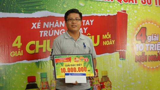 Uống Trà Xanh Không Độ, trúng thưởng 10 triệu đồng - Ảnh 1.