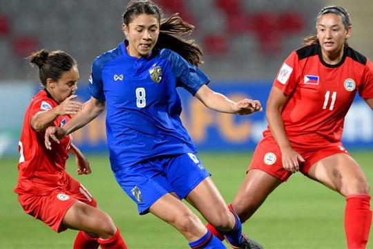 Thái Lan lần thứ hai giành vé dự World Cup bóng đá nữ - Ảnh 1.