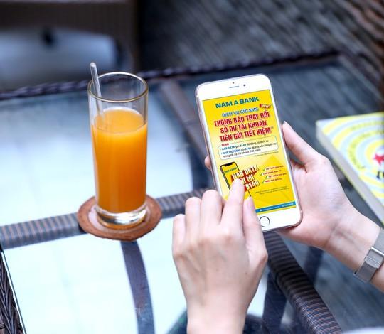 Quản lý tiền gửi tiết kiệm qua SMS Banking - Ảnh 1.